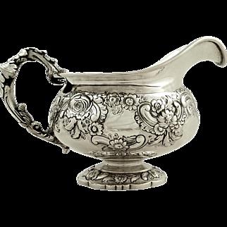 Antique Georgian Sterling Silver Jug 1822