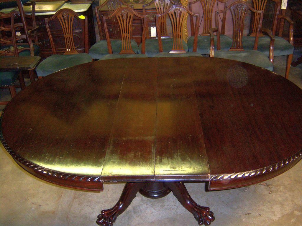 Mahogany Dining Table 54\