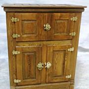 Ice Box, Wooden, Four Door