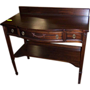 Mahogany Server or Pier Table, J. K. Rishel Co.