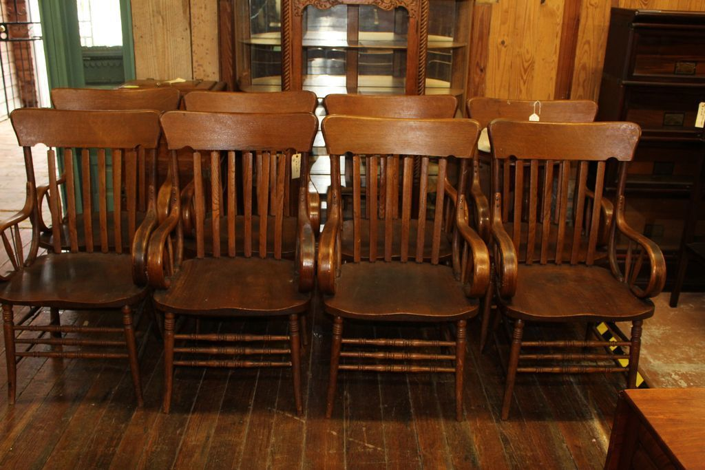 Bentwood Dining Chairs With Arms