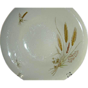 Winterling Bavarian Wheat Pattern Set of 8 Dinner Plates 1940s