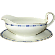 J C Trianon Bavaria Gravy Boat 3890 with Underplate Early 1900s