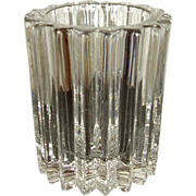 Ribbed Glass Cigarette Holder Mint Condition