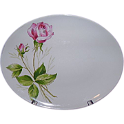 Knowles Tea Rose Oval Platter, Pattern X22400