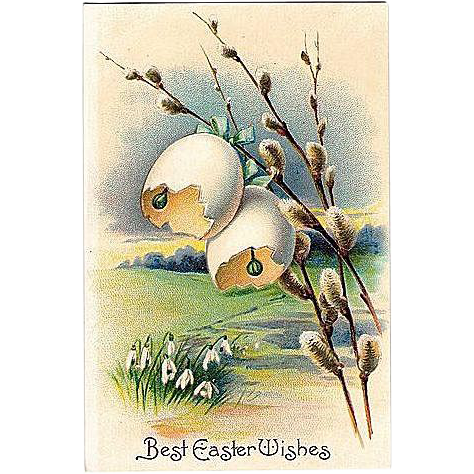Easter Post Card Made in Germany by International Art Publishing Co.