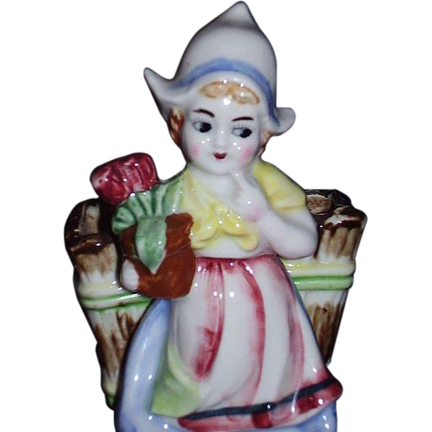 Charming Dutch Girl Planter