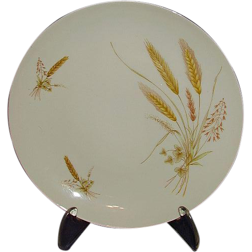 Winterling Bavarian Wheat Pattern Set of 8 Salad Plates 1940s