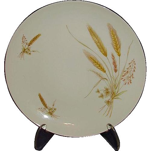 Winterling Bavarian Wheat Pattern Set of 8 Salad Plates 1940s
