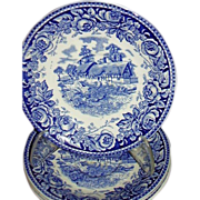 "British Anchor, Stratford, ""Scenes From The Shakespeare Country"" Saucers"