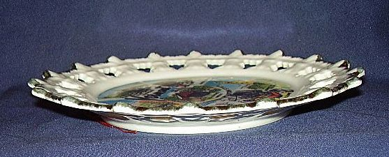 Vermont Souvenir Plate 1980 Made In Korea Sold On Ruby Lane