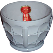 "Indiana Milk Glass ""Constellation"" Nut Cup, Circa 1940"