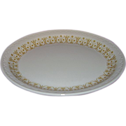 Syracuse Restaurant Ware Oval Platter USA 1929