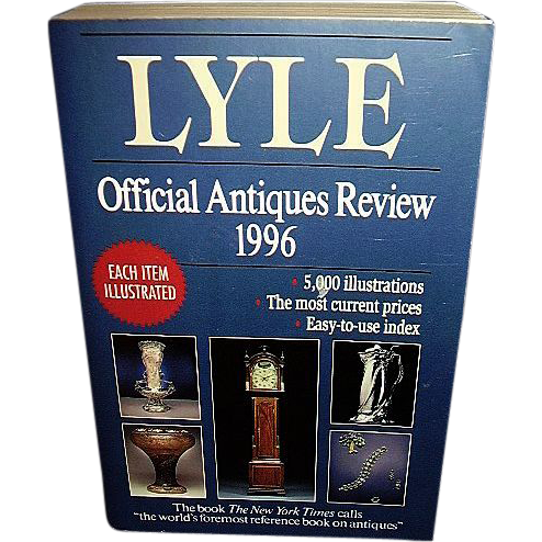 Lyle Official Antiques Price Guide 1996, FREE Shipping in US