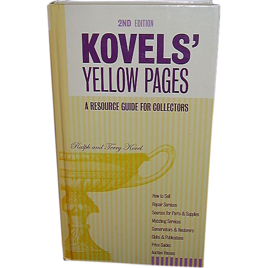 2003 Kovels' Yellow Pages, 2nd Edition - FREE Shipping in US