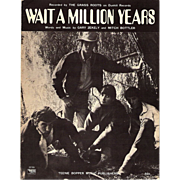 "1969 The Grass Roots ""Wait a Million Years"" Sheet Music"