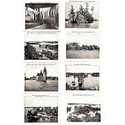 Souvenir Photo Folder, 1920-30s Thousand Islands, NY,  Wm, Jubb B&W Photos