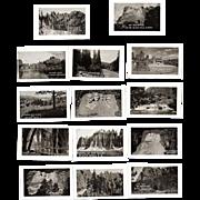 Souvenir Photo Folder, 1930s Black Hills, SD  20 B&W Miniatures