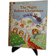 Night Before Christmas 1987 Little Golden Book