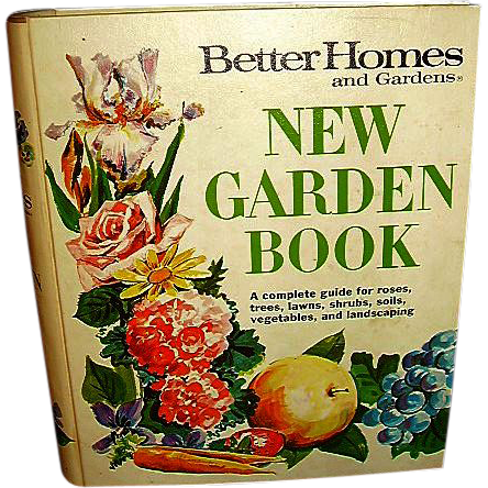 1975 Better Homes And Gardens New Garden Book Free Shipping In Us From Romancingthepast On