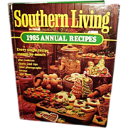 Southern Living Cookbook 1985 Annual Recipes - FREE Shipping in US
