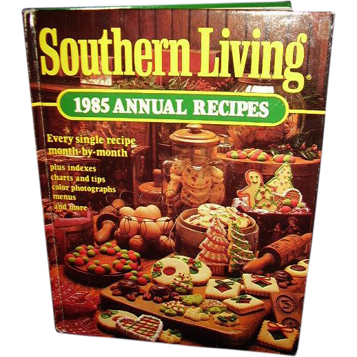 Southern living cookbook 1985 annual recipes free Southern living change of address