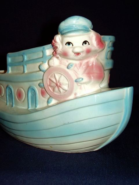 Toy Boat Baby Nursery Planter Rb Japan From