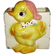 Yellow Duck Baby Nursery Planter - So Cute!