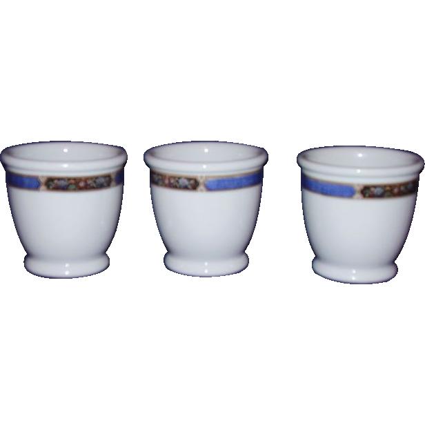 Syracuse Restaurant Ware Boullion Custard Cups 1941 OP CO