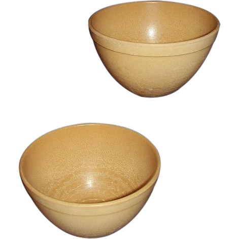 ELLINGERS Agatized Wood Retro Mid Century Modern Bowls