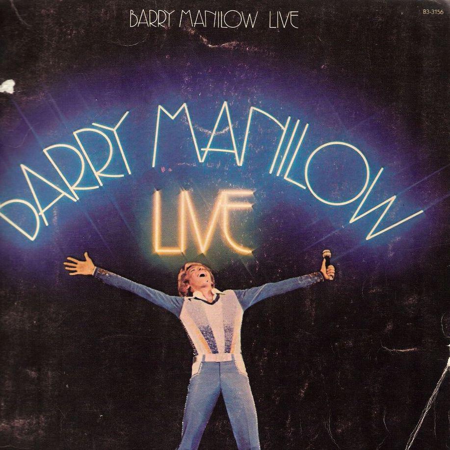 1977 Barry Manilow LIVE Album Music Book