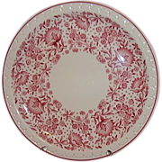 Syracuse Restaurant Ware Econo-Rim Dinner Plate Railroad Pattern 50875