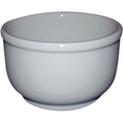 TEPCO Restaurant Ware Soup Bowl All White