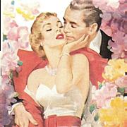 Cashmere Bouquet Soap~Fifties Elegance~Womans Home Companion, June 1952