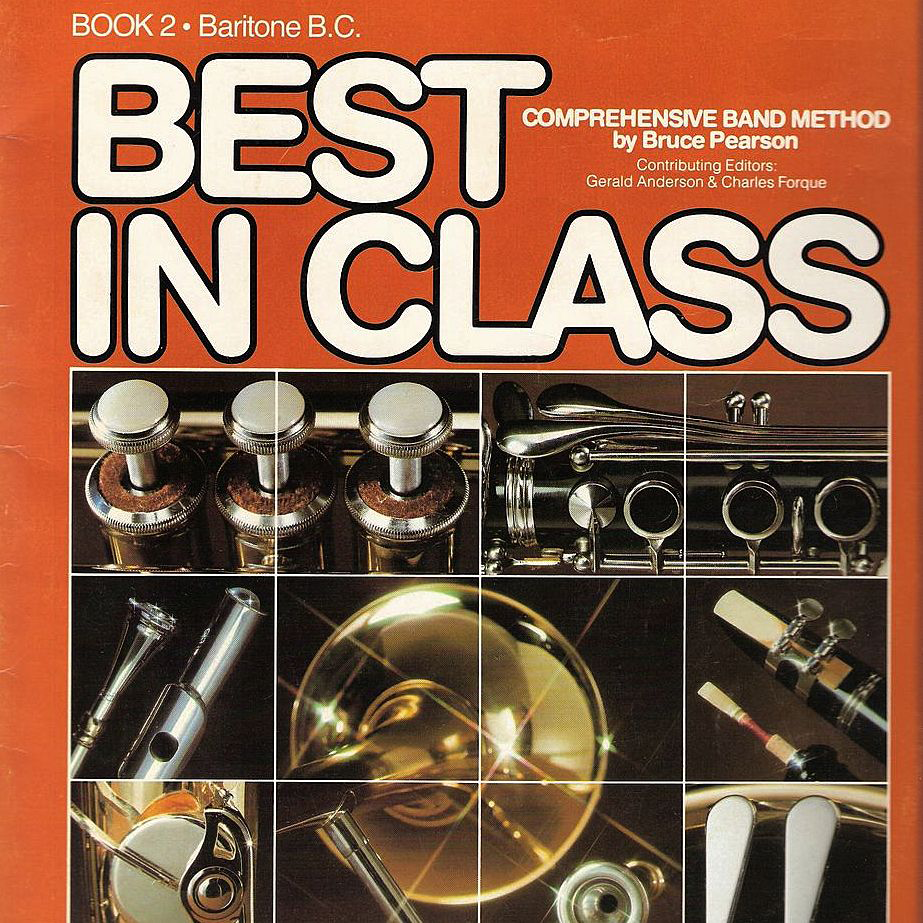 Baritone BC Musical Instrument Instruction Music Book 1983