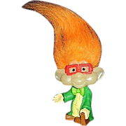 Burger King Kids Club IQ Troll Doll ~ FREE Shipping in US