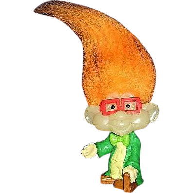 Burger King Kids Club IQ Troll Doll ~ FREE Shipping in US