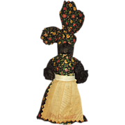 Black Americana Mammy Bell Doll New Orleans Souvenir