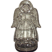 Mikasa Crystal Angel Holiday Classics Votive Candleholder WY520-550 Japan Original Box