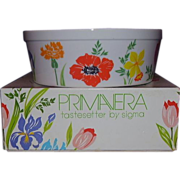 Primavera Soufflé Dish by Sigma Tastesetters Ovenware Japan Original Box