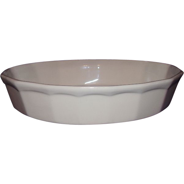 McCoy Pottery Casserole Oven Proof Oval Baking Dish 7072