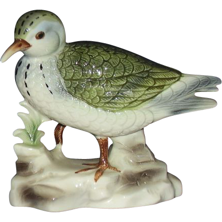 Inarco Sand Piper Bird Figurine E-3393 Japan