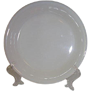 Fire King White Pie Plate Ovenware 459 Made 1942 to 1945