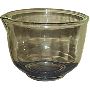 Fire King for Sunbeam Clear Mixing Bowl with Pour Spout