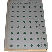 Girl Scout Leaders Guide Intermediate Program 1955