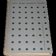 Girl Scout Leaders Guide Intermediate Program 1955