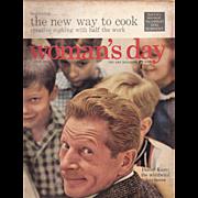 Woman's Day Magazine Danny Kaye June 1956