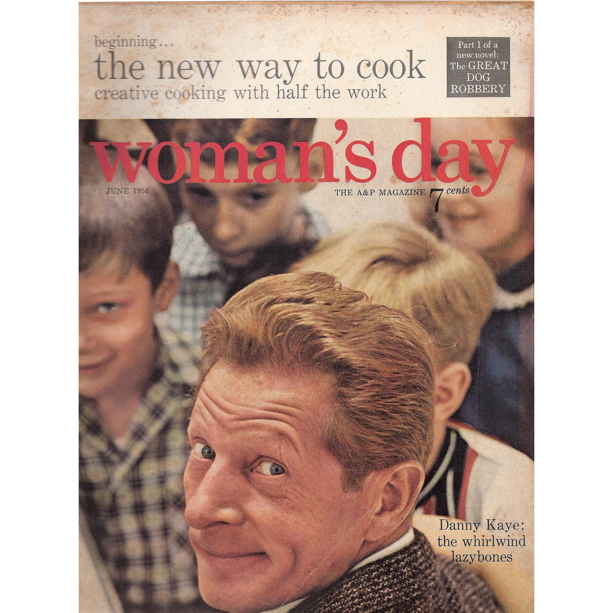 Woman's Day Magazine Danny Kaye June 1956