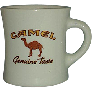Camel Cigarettes Advertising Mug Restaurant Ware Genuine Taste