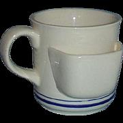 Chadwick Miller Tea Cup Mug with Tea Bag Holder 1984